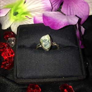 Jewelry - 🔥🔥 Natural Tourmaline Sterling Statement Ring 🔥